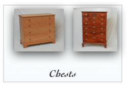 Colonial and reproduction Nightstands bedside tables