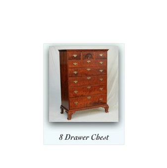 Reproduction Chest, chippendale chest, queen anne chest, traditional chest traditional furniture makers