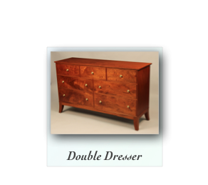 Mahogany Double Dresser Custom Chest
