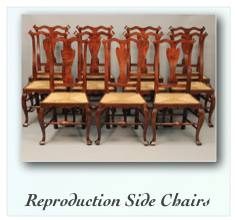 Reproduction Philadelphia Side Chairs William Savery Chair