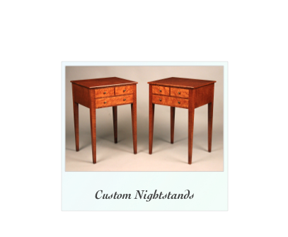 Handmade Custom Nightstands