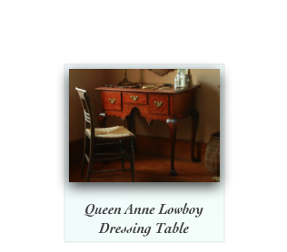 Queen Anne Lowboy Dressing Table