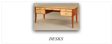 Custom Desk Maker New ENgland Custom Furniture Makers, handcrafted desk,